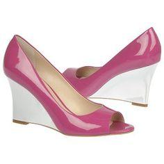 Franco Sarto Harper Shoes (Fuschia Patent)  $85