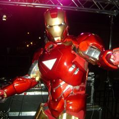 Make: Iron Man Costumes (Aithan would love it if we mad him one of these)