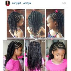Check out @curlygirl__amaya rocking her braid n twist style done by her mom and inspired by Protective style Lordina that I did on my sweet pea Erin a few weeks ago. She has gorgeous hair!!! Totally our hair crush! Excellent job mom! Curlies be sure to follow her IG page for inspiration and healthy hair care tips!!