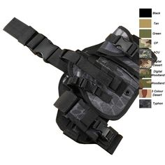 leg holster, Tactical holster,Combat holster, Military holster, Camouflage holster-Product Center-Sunnysoutdoor Co., LTD-