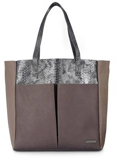 Belmondo Animal-Shopper Safari, Leo Print, Wilde, Taupe, Sneaker, Tote Bag, Casual, Bags, Animals