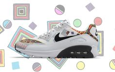 best authentic eb7bb f8e03 Nike x Liberty London  Air Max 90 Ultra Tendance Mode Ete 2017, Chaussure  Sneakers