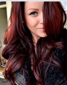 """Auburn hair color is a variation of red hair color but is more brownish in shade. Just like the ombre,Read More Flattering Auburn Hair Color Ideas"""" Dark Auburn Hair Color, Red Brown Hair Color, Red Purple, Color Red, Red Burgundy, Cherry Cola Hair Color, Auburn Brown, Cherry Red, Red Ombre"""