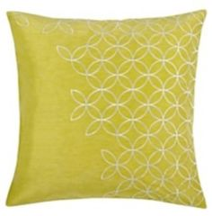 Yellow Décor/ Decorating with Yellow Ideas  Yellow Throw pillow