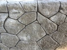 Another hand carved concrete wall... Beautiful!