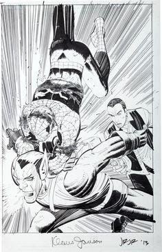 Original Comic Art:Splash Pages, John Romita Jr. and Klaus Janson Amazing Spi... Image #2