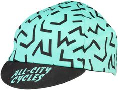 Take it back to the with All-City's stylish The Max cycling cap. Pair with the matching jersey, bibs, and socks to complete the look. Koolfit elastic band One size fits most Made in USA Kids Cycle, 20 Wheels, Urban Road, Park Tool, Coffee Accessories, Fat Bike, Bike Seat, Road Bikes, Cycling