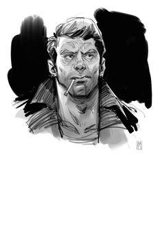 Borislav Mitkov - Illustration/Concept Art: Sketch a day: continue