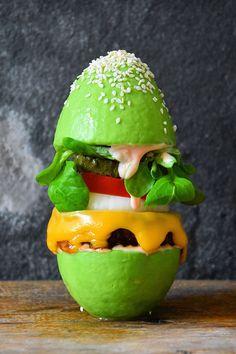 The Avocado Hamburger Bun Is the Latest Food Trend