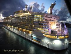 Oasis of the Seas. 2,394 crew members, 25 dining options, 7 distinct neighborhoods, one incredible adventure.