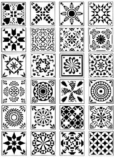 Quilt patterns...   http://www.rubbernation.com/servlet/the-INSPIRATION-cln-Textiles/Categories
