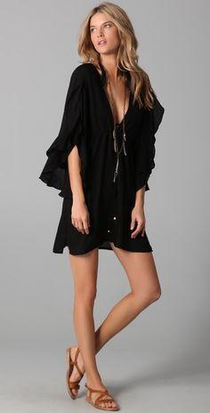 Vix Swimwear, Solid Nubia Tunic, $124