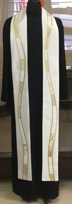 White River of Life Clergy Stole – Jeff Wunrow Designs