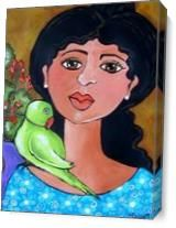 Nonnie And Friend As Canvas