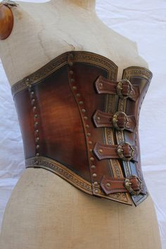 Gotta love well made female armor though i think i would have laced the different pieces...
