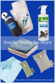 High School Kids are stinky smelly. High School Athletes? I shudder. Norwex can help.