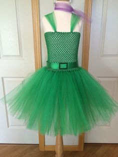 Disgust Inspired Tutu/Inside Out by SweetChicksTutus on Etsy