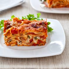 Lasagna For Two Recipe - Cook's Country from Cook's Country- lasagna in a loaf pan, brilliant! Enough for 4 or 2 with leftovers.