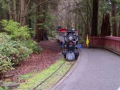 Train in Stanley Park