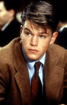 Matt Damon como Charlie Dillon en la película 'Colegio privado' (School Ties) (1992)