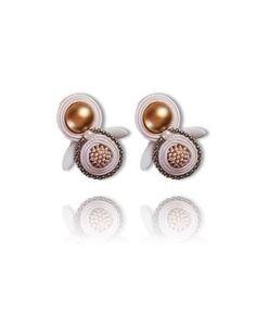 #Soutache #earrings, Soutache #jewerly, #handmade jewerly, #bijoux, #orecchini, #pendientes #fashion #design #madeinitaly - ALTHEA EARRINGS