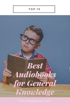 Searching for general knowledge audiobooks? You've come to the right place. Check out our picks for the best audiobooks about general knowledge. Our list includes self-help audiobooks, fiction audiobooks, audiobooks for women, audiobooks for teenagers, business audiobooks, graphic design audiobooks educational audiobooks, etc. Facts For Kids, Fun Facts, Space Shuttle Disasters, Types Of Intelligence, Lego Head, Best Audiobooks, Popular Toys, Book Writer, Trivia Games