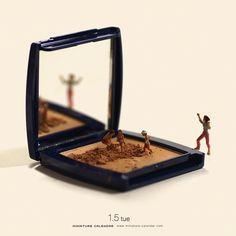 """Das ziemlich unglaubliche Langzeitprojekt """"Miniature Calendar """", des aus Japan stammenden Tatsuya Tanaka haben wir Euch bereits vorgestellt."""