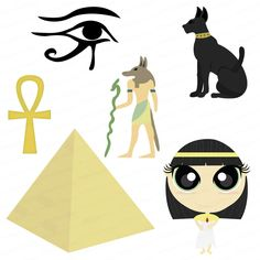 Items similar to Egyptian Clip Art Design Package on Etsy Egyptian Themed Party, Ancient Egypt Crafts, Egyptian Wedding, Library Themes, Horrible Histories, Thinking Day, Teaching Art, Art Lessons, Party Themes