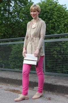 pink, gold and flats http://ahemadundahos.de/?p=3824