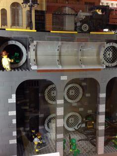 MICHLUG display at Lego store #LEGO Lego lego