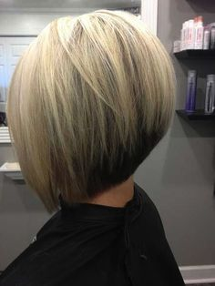 Enchanting Inverted Bob Haircuts for Mid Length Hair -19 Photos Pictures