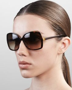 darrys oversize-square sunglasses by Kate Spade New York at Neiman Marcus.