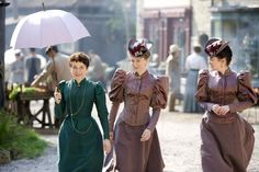 The ladies of Lark Rise to Candleford - Dorcas, Pearl and Ruby