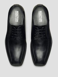 Bill-Board Leather Oxford, BLACK