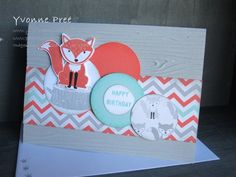 Foxy Friends, Fox Builder Punch, Stampin' Up!, 2016-17 Catalogue, Pree Designs, Yvonne Pree,