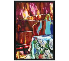 "June Afternoon 30"" High Rectangular Giclee Wall Art 