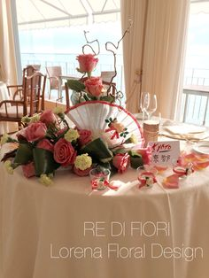 Tavolo sposi in stile giapponese. Bride and Groom's Table japanese style. 結婚 は 日本のスタイルです。