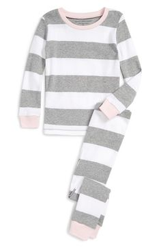 Burt's Bees Baby Fitted Two-Piece Organic Cotton Pajamas (Toddler Girls, Little Girls & Big Girls) available at #Nordstrom