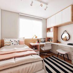 Trendy Bedroom Ideas For Small Rooms For Girls Ikea For Kids Tiny Bedroom Design, Kids Bedroom Designs, Small Room Design, Home Room Design, Diy Home Decor Bedroom, Room Ideas Bedroom, Small Room Bedroom, Trendy Bedroom, Bedroom Kids