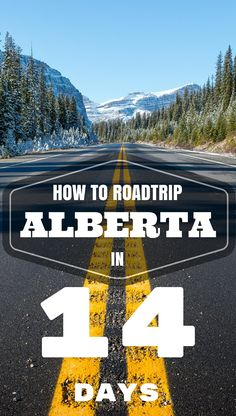 The most scenic drive in the world… glaciers, lakes and the majestic Rocky Mountains. Follow us as we discovered Alberta on this epic 2-week road trip covering Jasper, Edmonton, Drumheller, Calgary, Banff and Lake Louise. We've covered everything you need to know for your own road trip: accomodation, attractions, sightseeing and food. How To RoadTrip Alberta in 14 Days. #exploreAlberta #roadtrip PIN IT for that future trip.