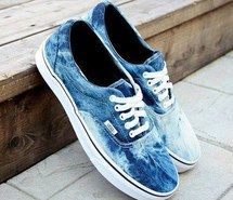 Inspiring picture 3, yeah, acid wash, blue, bleached, love it, perfect, summer, cool, love, lovely, tenis, cute, Dream, fashion, vintage, shoes, style, young, white, vans. Resolution: 500x500. Find the picture to your taste!