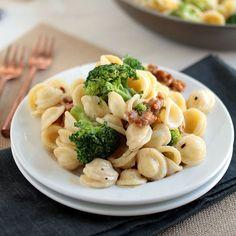 Spicy Sausage and Broccoli Orecchiette
