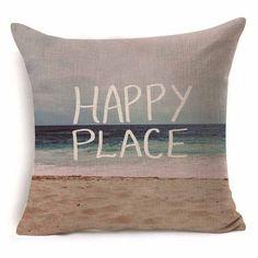1Pcs 43*43cm Animal Music Nautical Sea Series Cotton Throw Pillow Cushion Cover (FREE SHIPPING)