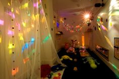 Inspiration for a Sensory Room... this one is from Active Learning Child Care in Kingston UK