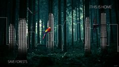 This Is Home by Theo Kontaxis, via Behance