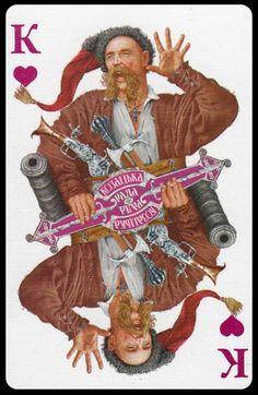 "Vladislav Erko_Cossack ataman_Card deck ""Cossack Council""_ (Колода карт ""Козацька Рада"")_2014"