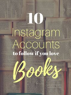 Do you love books? Book lovers NEED to check out these 10 gorgeous instagram accounts if you appreciate beautiful book photography and book recommendations.