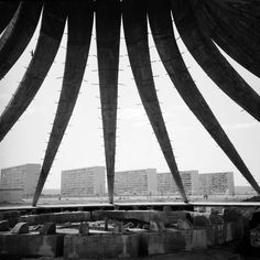 Brasilia, Oscar Niemeyer, photo: Lucien Clergue