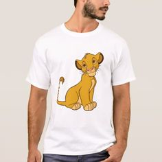 Lion King's Simba Disney T-Shirt - click to get yours right now!