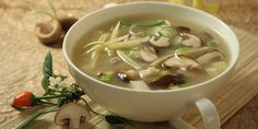 Hot and Sour Soup - Recipe Details Mushroom Rice, Soup Recipes, Healthy Recipes, Hot And Sour Soup, Bamboo Shoots, Chili Oil, Stuffed Mushrooms, Stuffed Peppers, Recipe Details